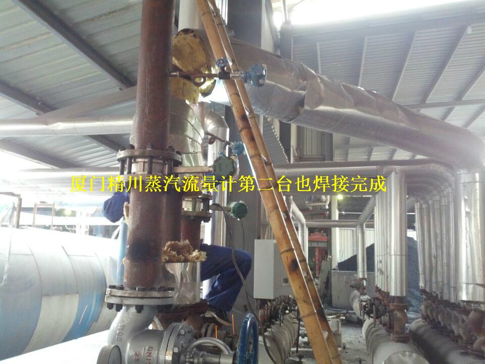 合成革厂蒸汽流量计