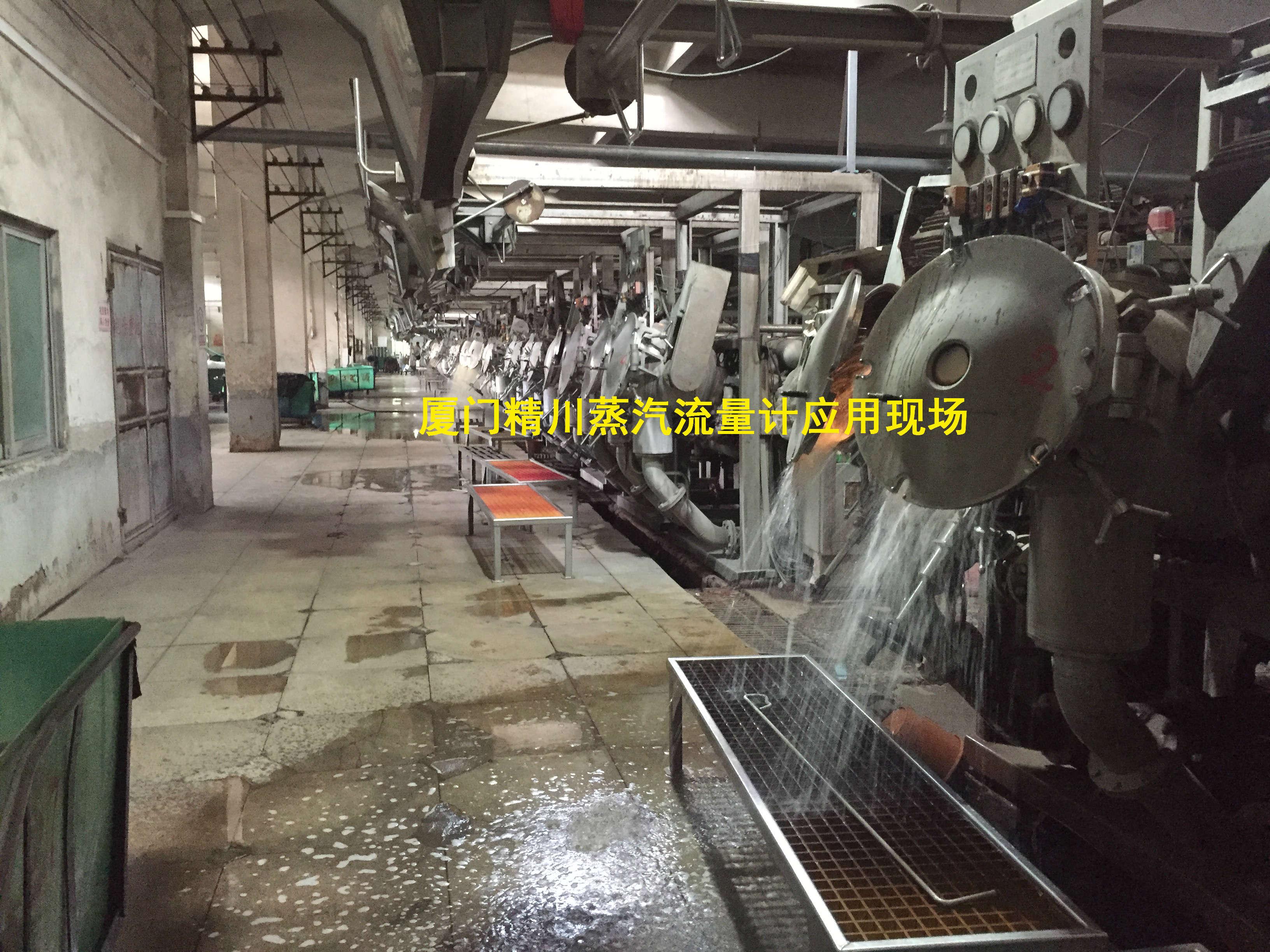 厦门精川染织厂蒸汽流量计
